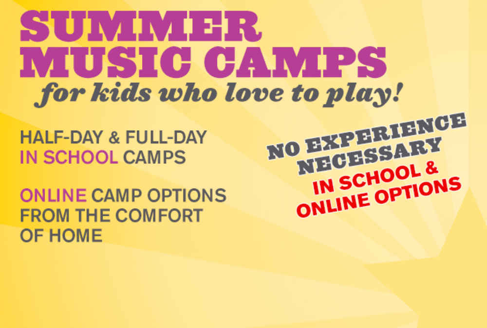 Bach to Rock Online Summer Camps